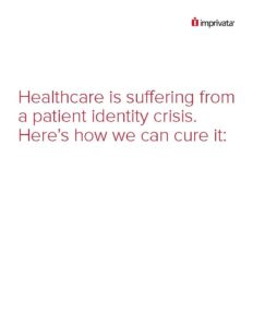 Patient ID crisis WP cover