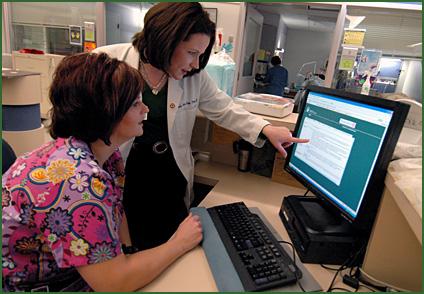 Online Support for IV Drug Administration: Evidence-Based