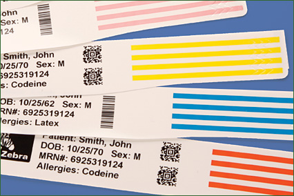 Patient Identification: Producing a Better Barcoded Wristband